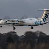 Flybe - De Havilland Canada Dash 8-400 (G-ECOE) - Edinburgh Airport (January 2020)