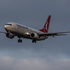 Turkish Airlines - Boeing 737-8F2 (TC-JVH) - Edinburgh Airport (January 2020)