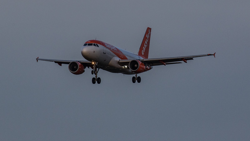 easyJet - Airbus A319-111 (OE-LQH) - Edinburgh Airport (January 2020)