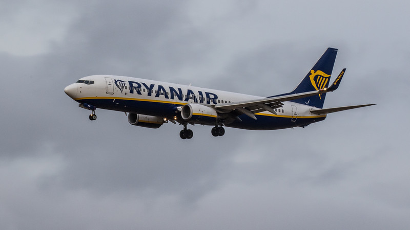 Ryanair - Boeing 737-8AS (EI-FIR) - Edinburgh Airport (January 2020)