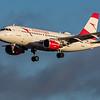 Austrian Airways - Airbus A319-112 (OE-LDA) - Edinburgh Airport (February 2020)