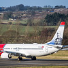 Norwegian Airways (Ivar Aasen Livery) - Boeing 737-8JP (LN-NGP) - Edinburgh Airport (February 2020)