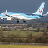 TUI - Boeing 737-8K5 (G-FDZB) - Edinburgh Airport (February 2020)