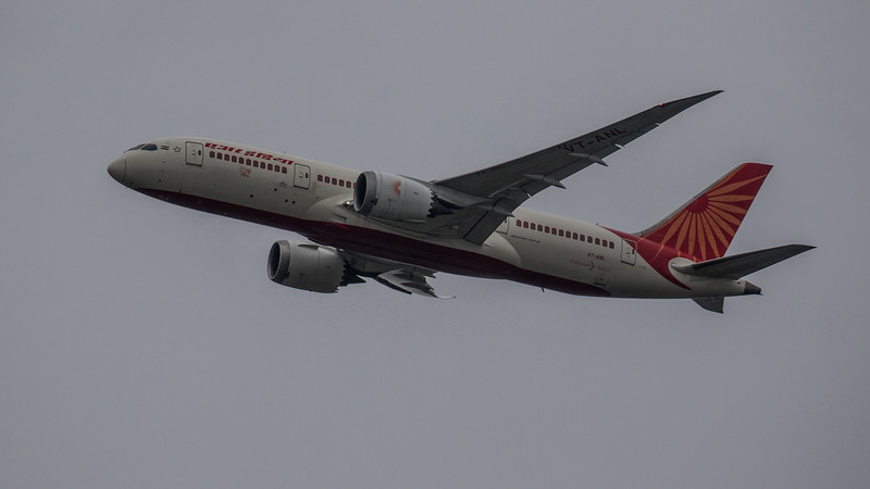 Air India - Boeing 787-8 Dreamliner (VT-ANL) - Heathrow Airport (February 2020)