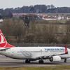 Turkish Airlines - Boeing 737-8F2 (TC-JVF) - Edinburgh Airport (March 2020)