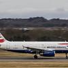 British Airways - Airbus A319-131 (G-EUPW) - Edinburgh Airport (March 2020)