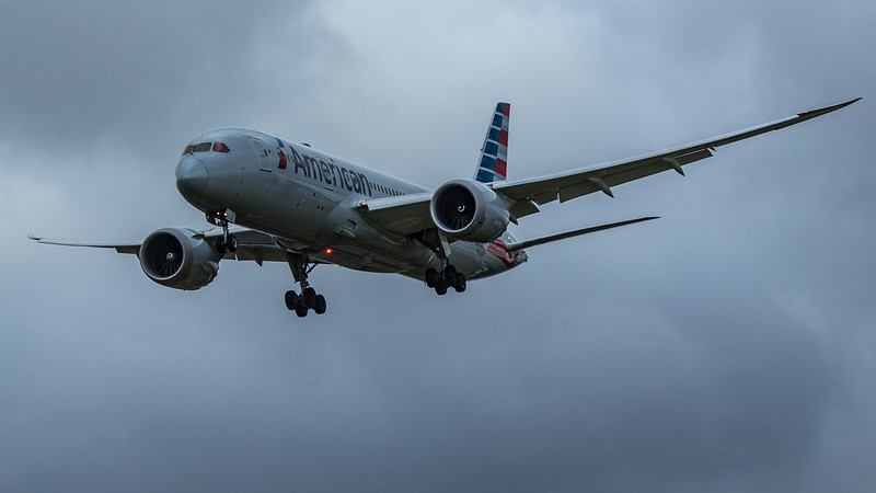 American Airlines - Boeing 787-8 Dreamliner (N805AN) - Heathrow Airport (June 2020)
