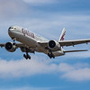 Qatar Airways - Boeing 777-3DZ(ER) (A7-BER) - Heathrow Airport (July 2020)