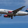 AirSERBIA - Airbus A319-132 (YU-APF) - Heathrow Airport (July 2020)