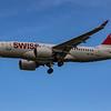Swiss - Airbus A220-100 (HB-JBB) - Heathrow Airport (October 2020)