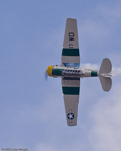 "John Collver and T-6 Texan ""Wardog"""