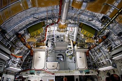 Boeing C-17 interior