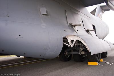 Landing gear detail, Boeing C-17