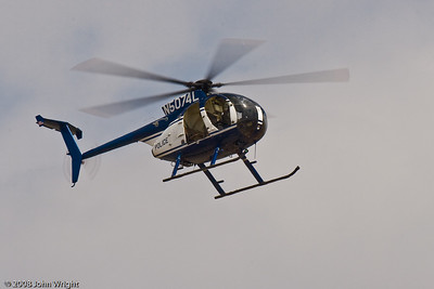 Riverside Police helicopter