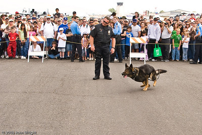 Riverside Police K-9 demonstration