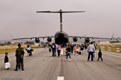 Boeing C-17 rear view