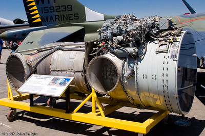 Rolls Royce Pegasus engine that powers the USMC AV-8B Harrier
