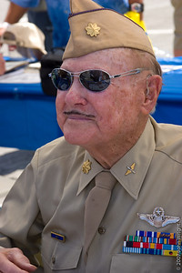 WWII veteran Major Bill L. Disbrow, USAF (Ret.), Age 92.