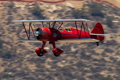 Stearman Biplane primary trainer