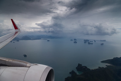An Afternoon Storm over Phang Nga Bay
