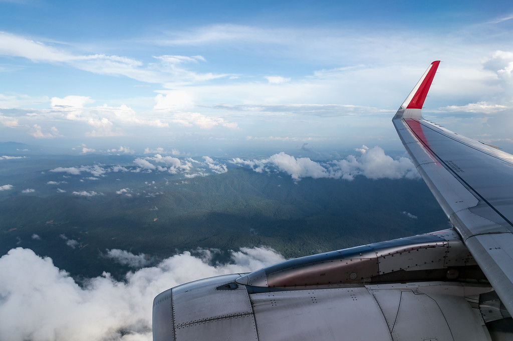 Descending into Chiang Mai