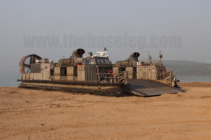 US Navy LCAC at Hat Yao beach