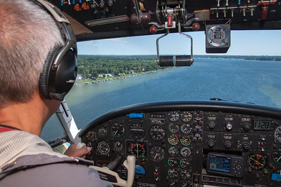 Cass Lake Fly-By