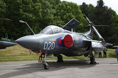 ex-RN Blackburn Buccaneer S2B, XX894, on static display - 28/05/17.