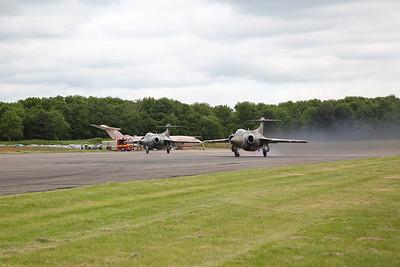 Cold War Jets at Bruntingthorpe Aerodrome, 28th May 2017