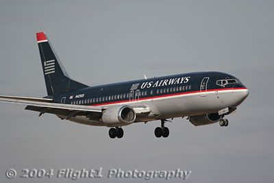 US Airways 737-400 (N425US)