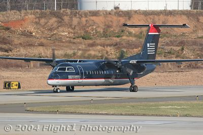 US Airways Express DeHaviland Dash 8