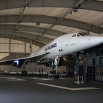 F-BTSD at Le Bourget, sharing a sterile hangar with F-WTSS
