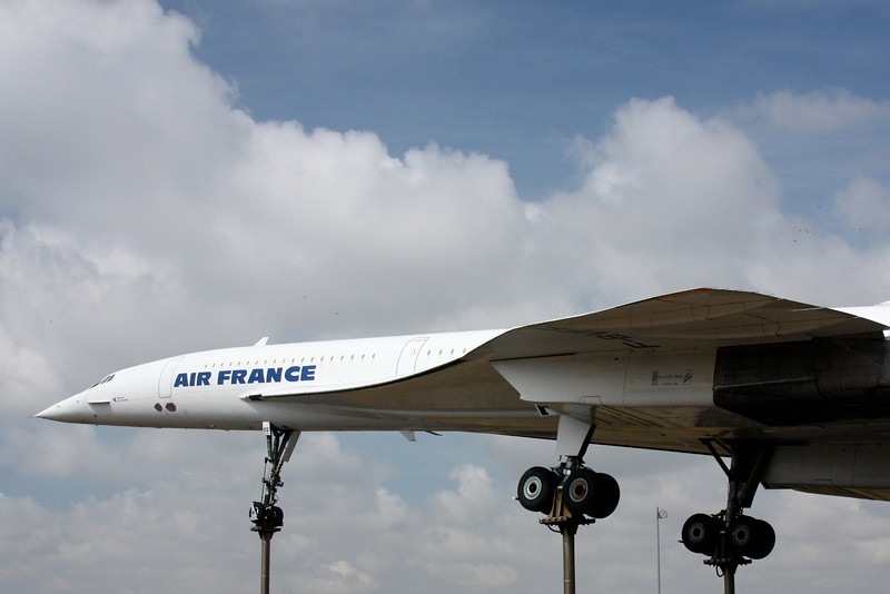 "F-BVFF, second last Concorde built, and the only Air France Concorde that didn't return to flight after the loss of ""Sierra Charlie"""