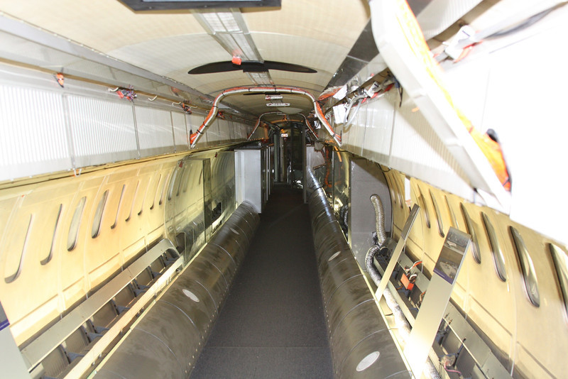 The interior of prototype F-WTSS