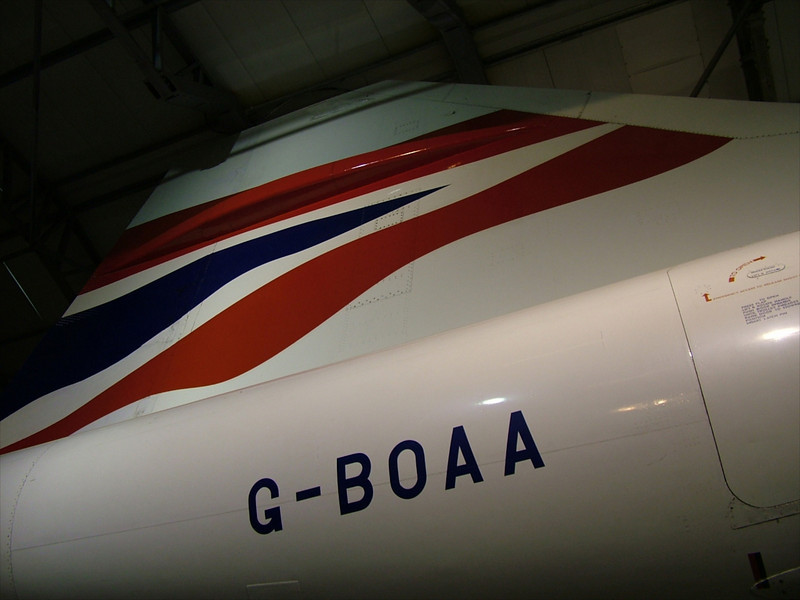 Concorde G-BOAA, East Fortune, Scotland