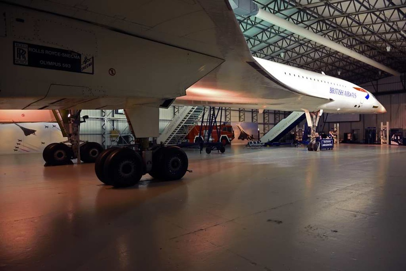 British Airways Concorde G-BOAA, Scottish Museum of Flight, East Fortune, 29 September 2017 2.