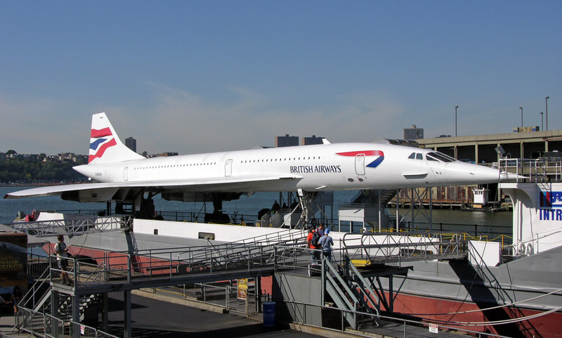 British Airways Concorde G-BOAD, USS Intrepid Sea, Air & Space Museum, New York City, 22 September 2005 2.