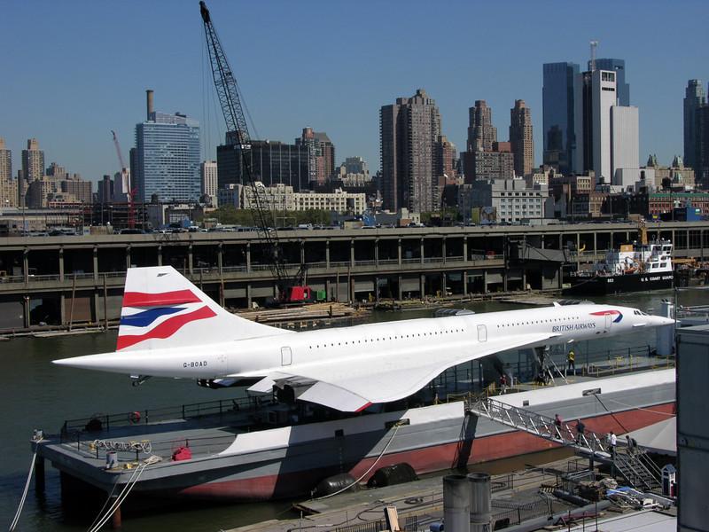 British Airways Concorde G-BOAD, USS Intrepid Sea, Air & Space Museum, New York City, 22 September 2005 3.