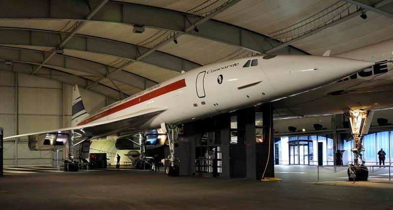 Corcorde F-WTSS, Musee de l'Air et de l'Espace, Le Bourget, Paris, 6 February 2015