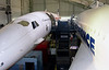 Concorde F-WTSS (left)  & Air France F-BTSD, Musee de l'Air et de l'Espace, Le Bourget, Paris, 10 May 2005 2.