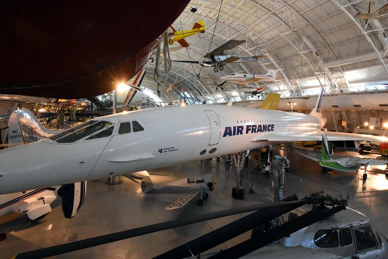 Air France Concorde F-BVFA, Smithsonian Udvar-Hazy air and space museum, Chantilly, Virginia, 14 May 2017
