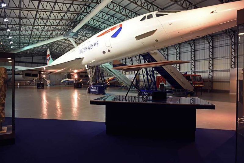 British Airways Concorde G-BOAA, Scottish Museum of Flight, East Fortune, 29 September 2017 1.