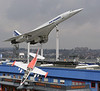 Air France Concorde F-BVFB & L-39 Albatros, Sinsheim Auto & Technik Museum, Germany, 21 March 2013