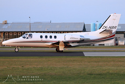 ZK-NBR Cessna Citation ISP 501
