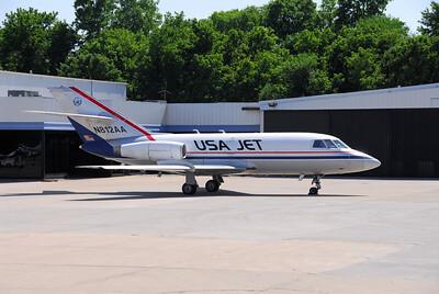 Dassault Falcon 20 built in the 1960's & still flying cargo.