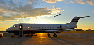 The MIghty Fokker at Sunrise