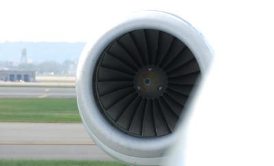 Rolls Royce Tay Engine on a Fokker Jet.