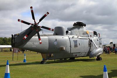 ex-Royal Navy Westland Sea King HAS6 XV659 - Ground Instructional Airframe - 14/06/15.