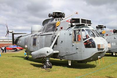 ex-Royal Navy Westland Sea King HAS6 ZA169 - Ground Instructional Airframe - 14/06/15.