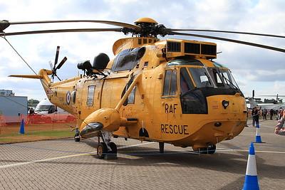 RAF Westland Sea King HAR3 XZ598 on static display - 14/06/15.